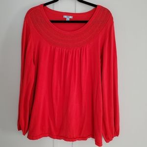 Izod Reddish Orange Women's Sweater